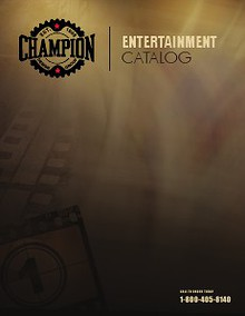 Entertainment Catalog REVISED 12/5/13