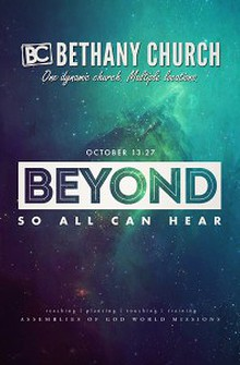 """Beyond So All Can Hear"" Missions Convention"