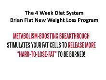 Brain Flatt 4 Week Diet System PDF, The 4 Week Diet Ebook Download