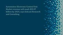 Automotive Electronic Control Unit Market Forecast, 2016-2024