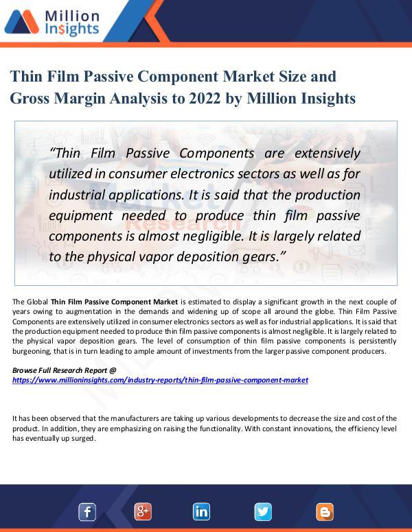 Market Share's Thin Film Passive Component Market Size 2022