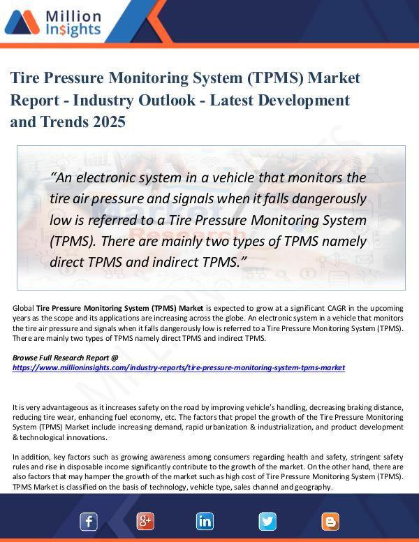 Market Share's Tire Pressure Monitoring System (TPMS) Market 2025