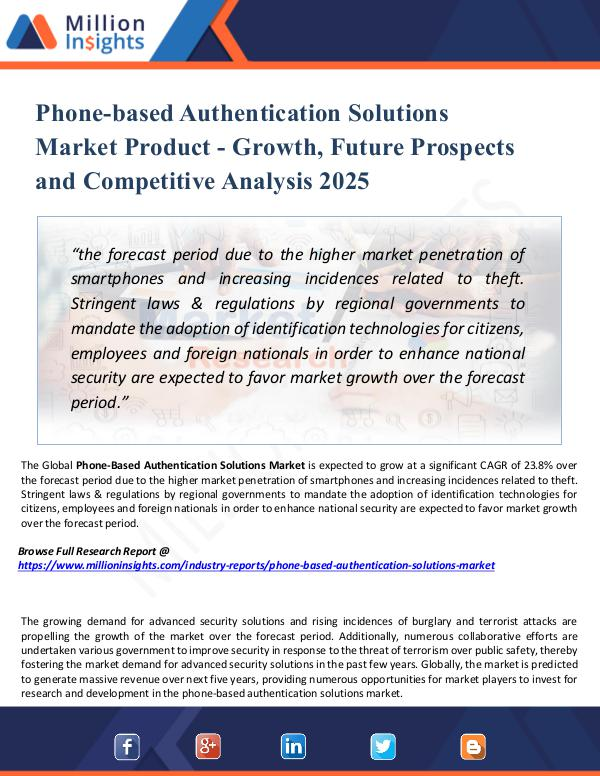 Phone-based Authentication Solutions Market 2025