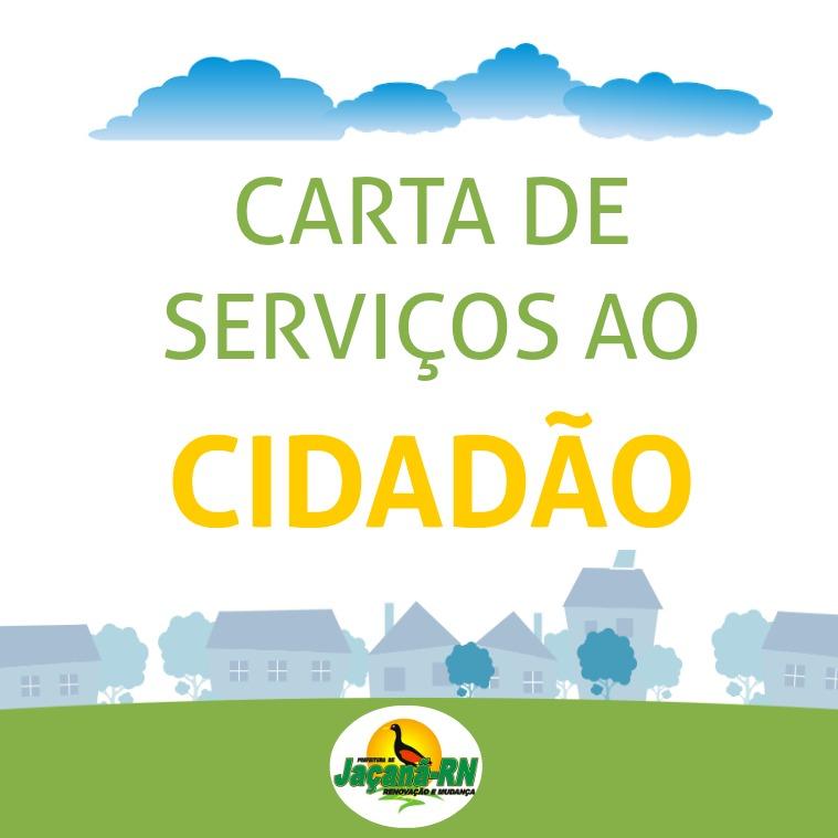 Carta de Serviços ao Cidadão Edição Única