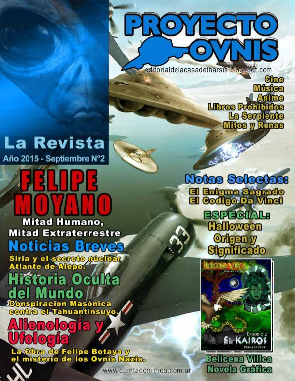 PROYECTO OVNIS LA REVISTA Nº 2 Proyecto Ovnis - La Revista N°2