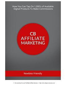 CB Affiliate Marketing, making money online
