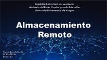 Revista digital, almacenamiento remoto. 23802986, Daniella Carrillo