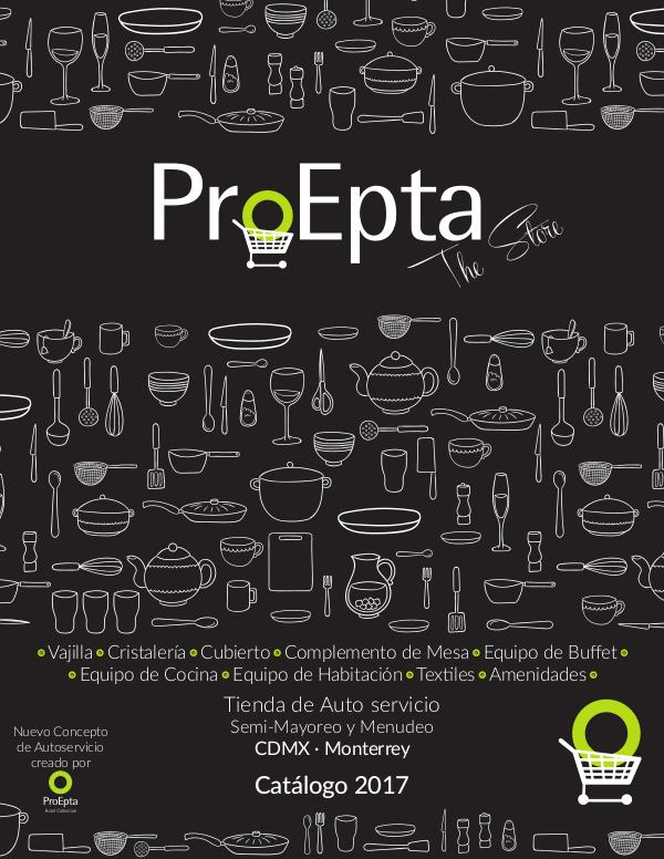 Catálogo ProEpta The Store 2017 Catalogo ProEpta The Store 2017
