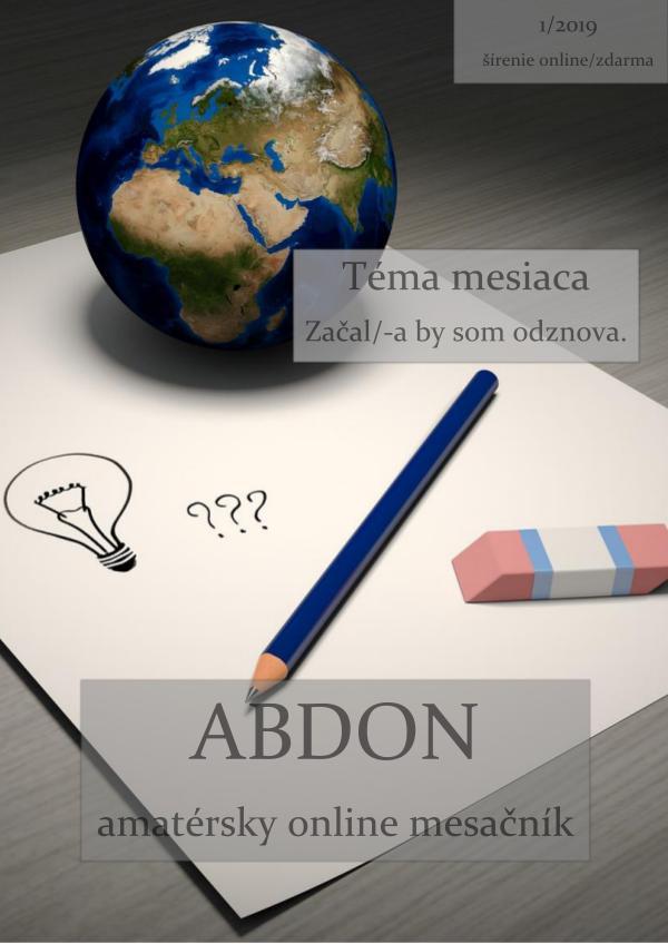 Abdon 1/2019 Abdon 1_2019