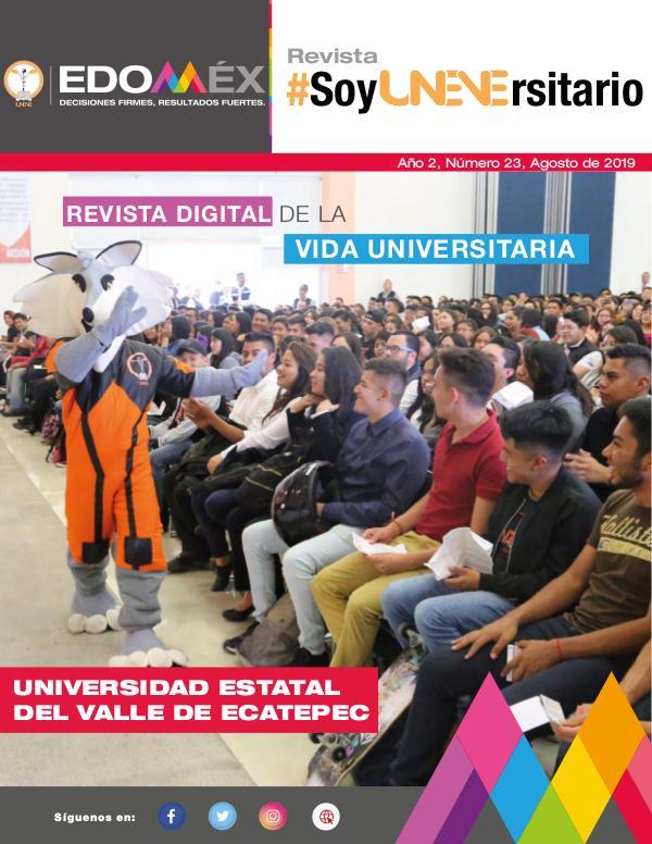 Revista #SoyUNEVErsitario Número 23