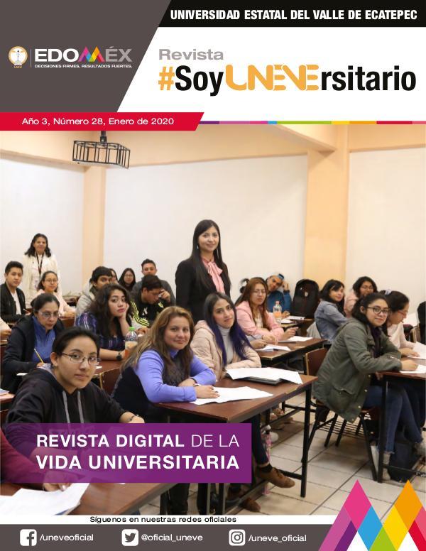 Revista #SoyUNEVErsitario Número 28