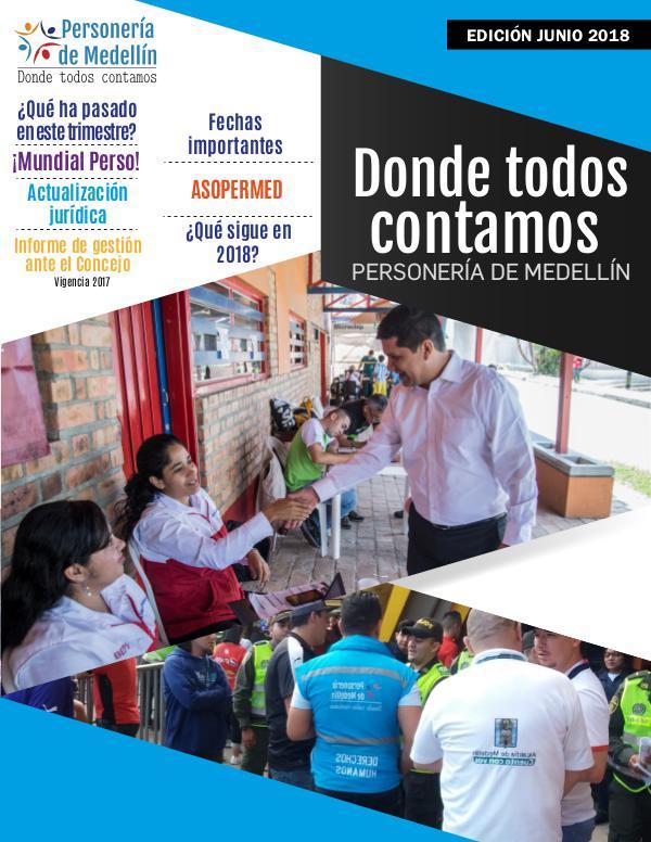 DONDE TODOS CONTAMOS Donde todos contamos - Edición junio