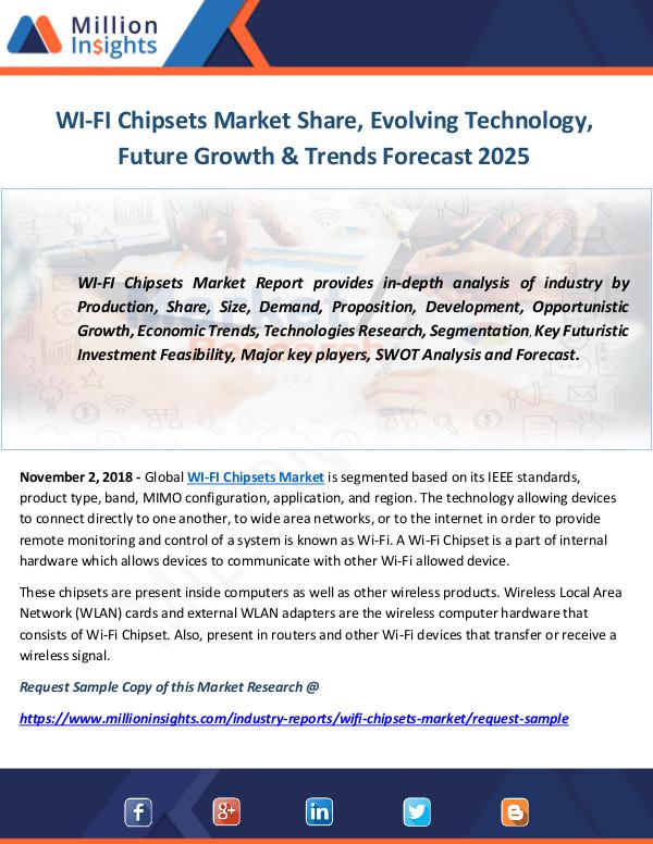 Industry and News WI-FI Chipsets Market