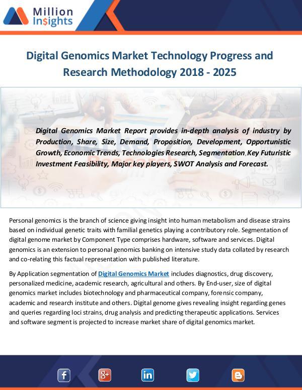 Digital Genomics Market