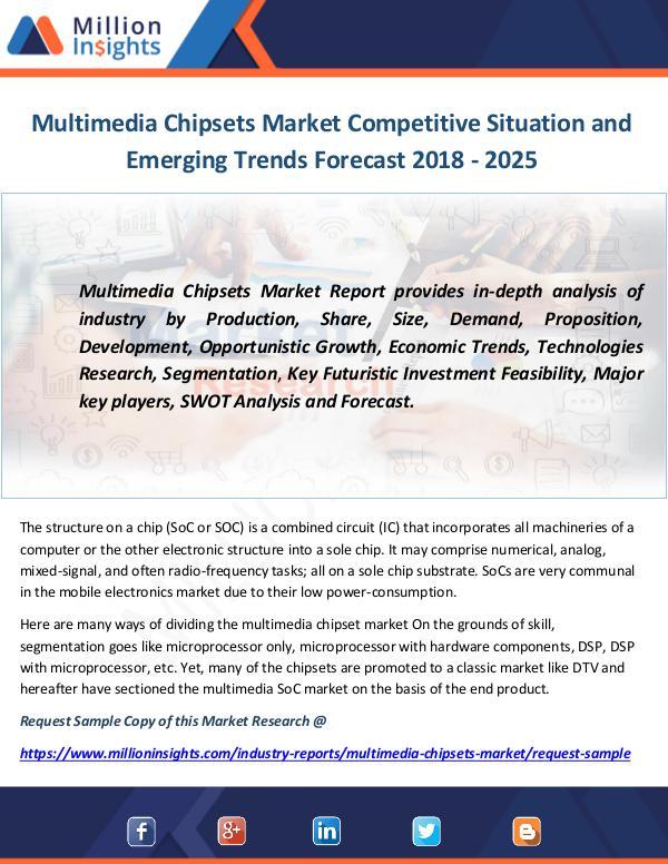 Multimedia Chipsets Market