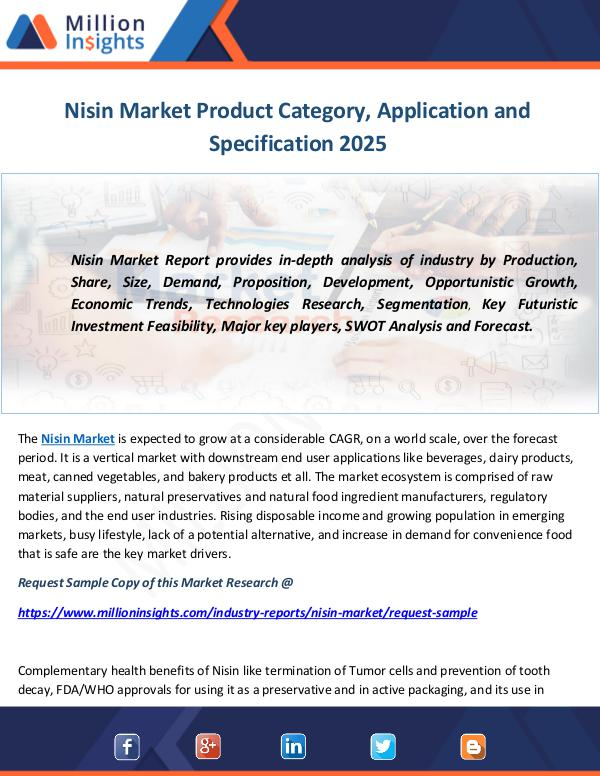 Nisin Market