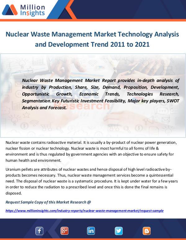 Nuclear Waste Management Market