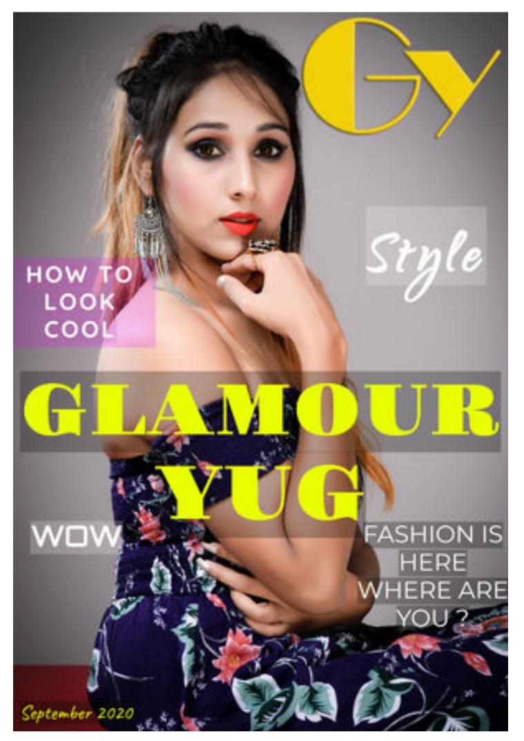 Glamour Yug September 2020 Fashion