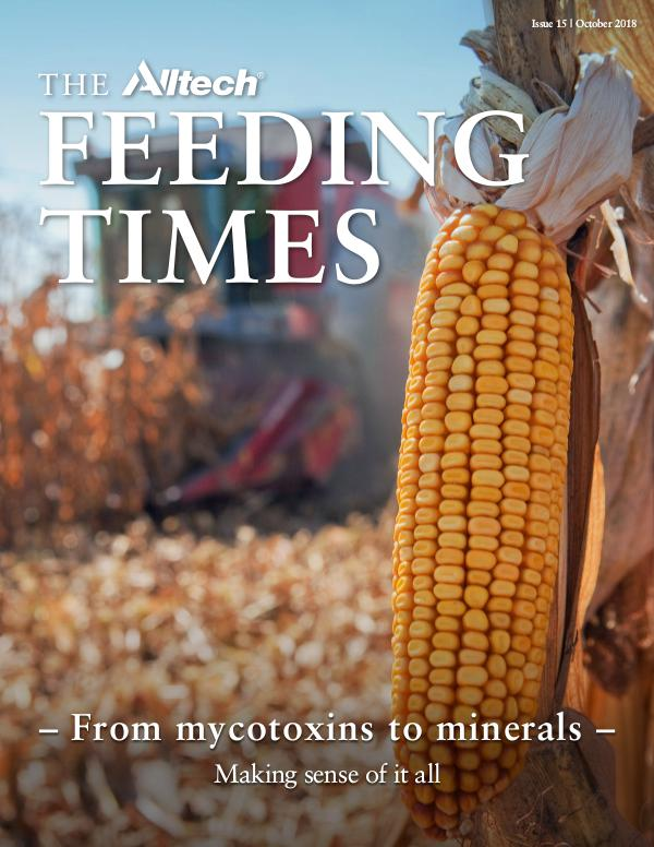 The Alltech Feeding Times Issue 15 - October 2018
