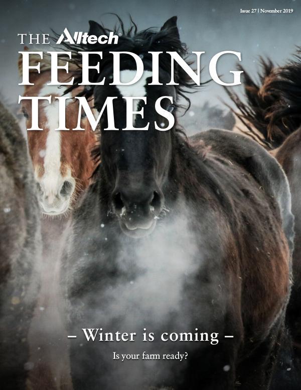The Alltech Feeding Times Issue 27 - November 2019
