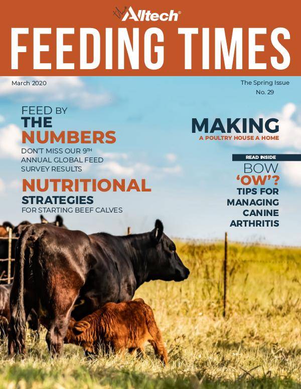 The Alltech Feeding Times Issue 29 - Spring 2020