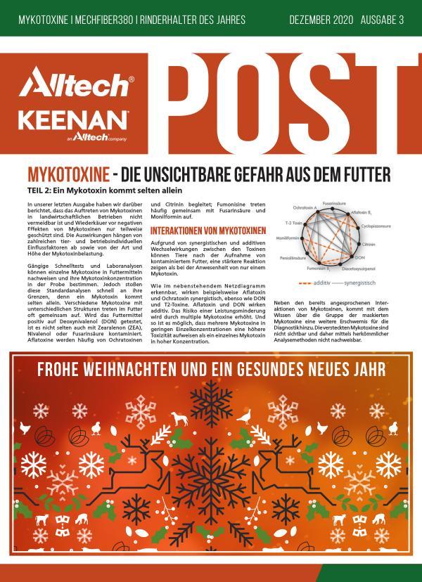 Alltech KEENAN Post Oktober 2020 - Ausgabe 2