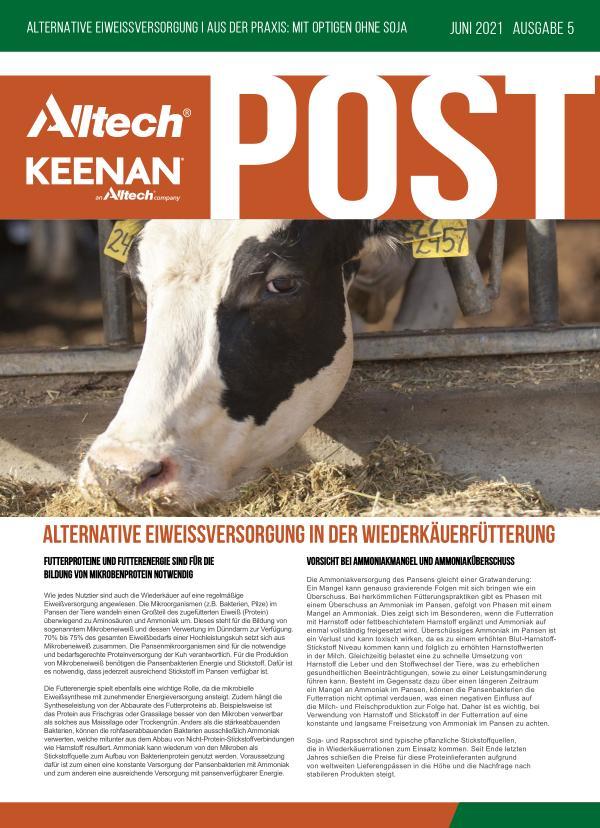 Alltech KEENAN Post Juni 2021 - Ausgabe 5