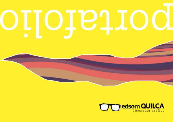 PORTAFOLIO _  EDSOM QUILCA portafolio _ edsom QUILCA  diseñador gráfico