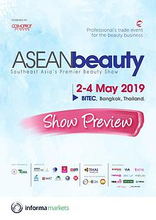 ASEAN beauty 2019 Show Preview