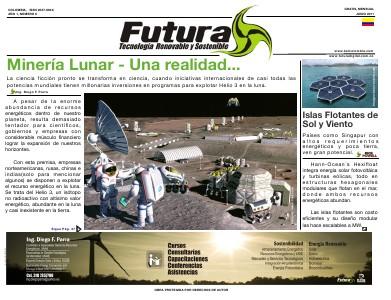 Futura -  Tecnología Renovable y Sostenible - Futura Septiembre 2011 Futura -  Tecnología Renovable y Sostenible - Fut