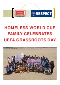 Homeless World Cup - Overview GrassrootsDay_Magazine_Intl-partners_xs