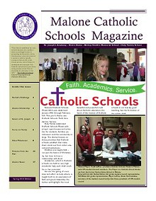 The North Country Catholic Schools Association Magainze