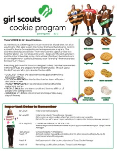 2013 Girl Scout Cookie Program Material 2013 Cookie Parent Guide