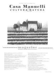 Casa Manuelli Magazine Casa Manuelli numero Zero