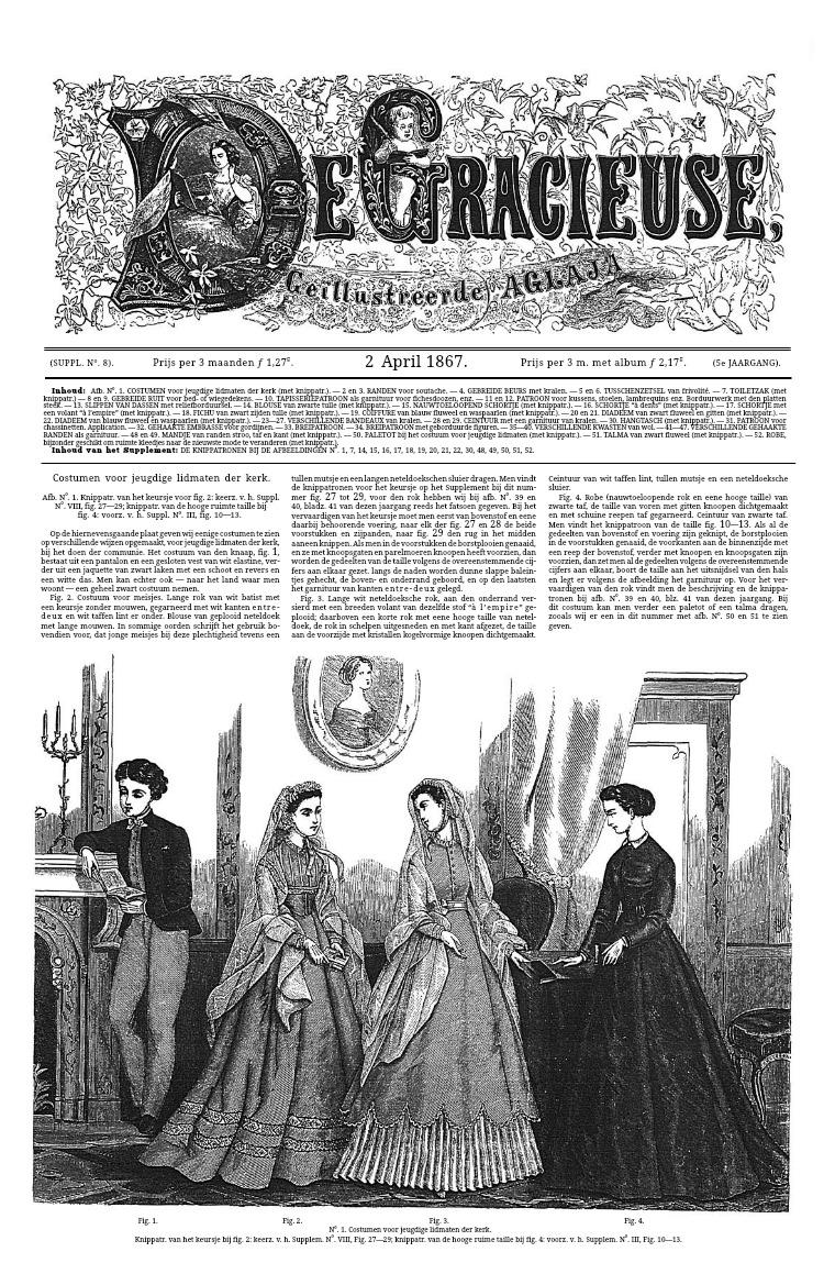 De Gracieuse 2 April 1867