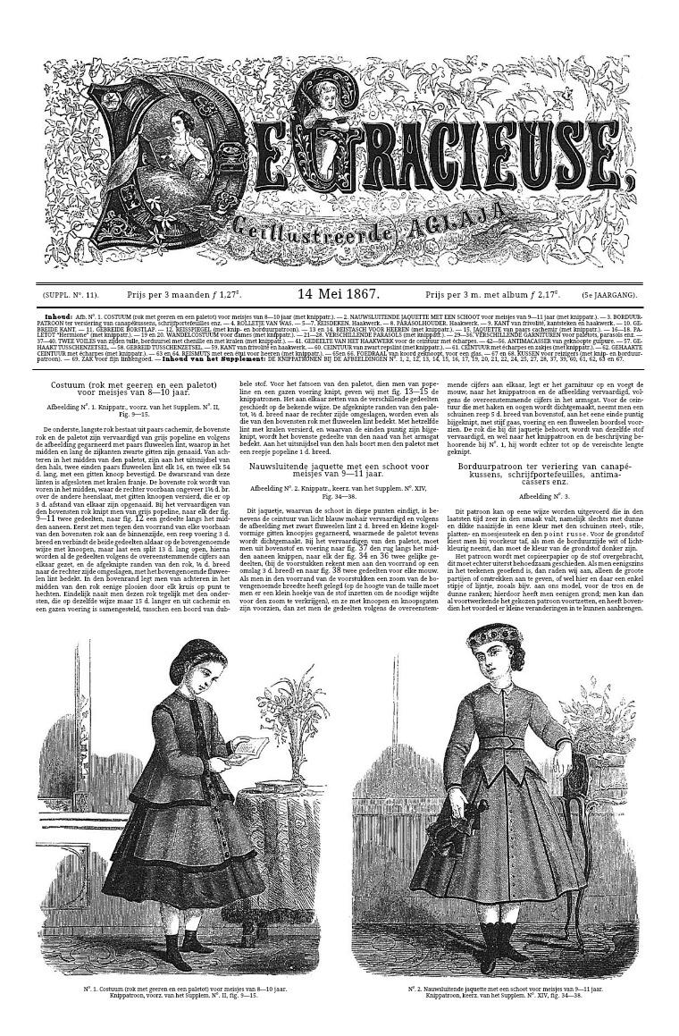 De Gracieuse 14 May 1867