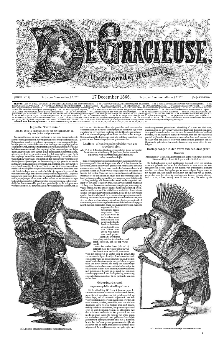 De Gracieuse 17 December 1866