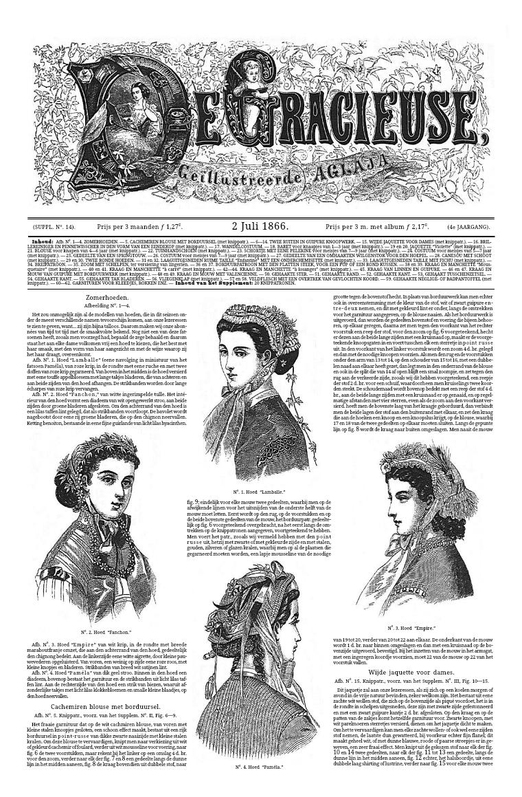 De Gracieuse 2 July 1866