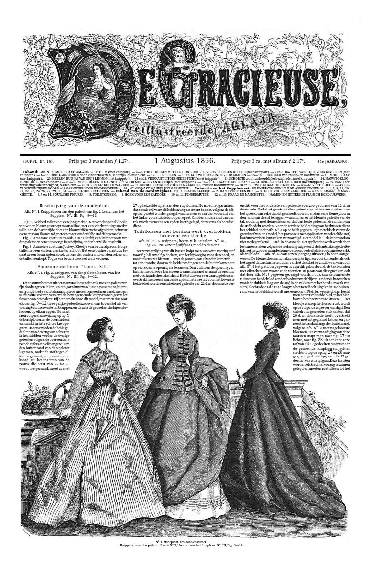 De Gracieuse 1 August 1866