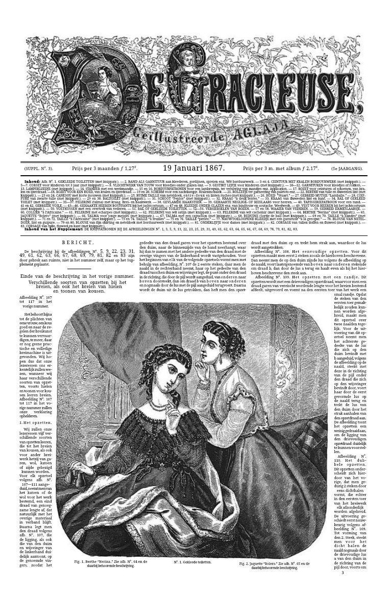 De Gracieuse 19 January 1867