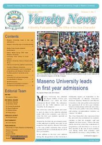Varsity News Sep 2013