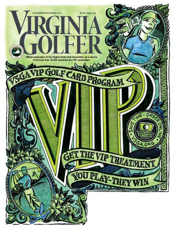 Virginia Golfer Nov / Dec 2016