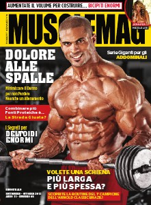 MuscleMag Italia #65 Settembre/Ottobre 2013