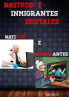 Nativos e Inmigrantes Digitales