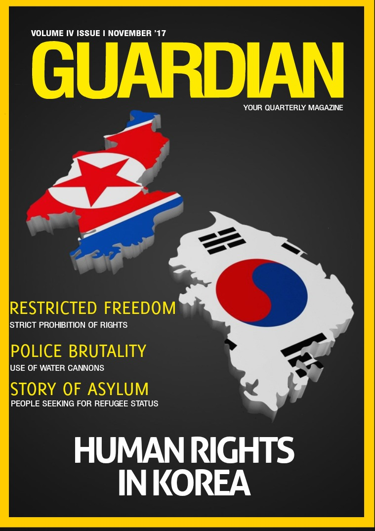 THE GUARDIAN VOLUME IV ISSUE I