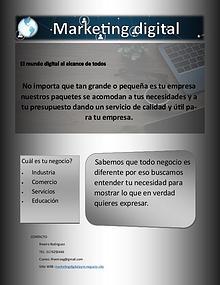 Marketing digital AyM