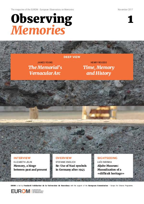 Observing Memories Issue 1 (reviewed)