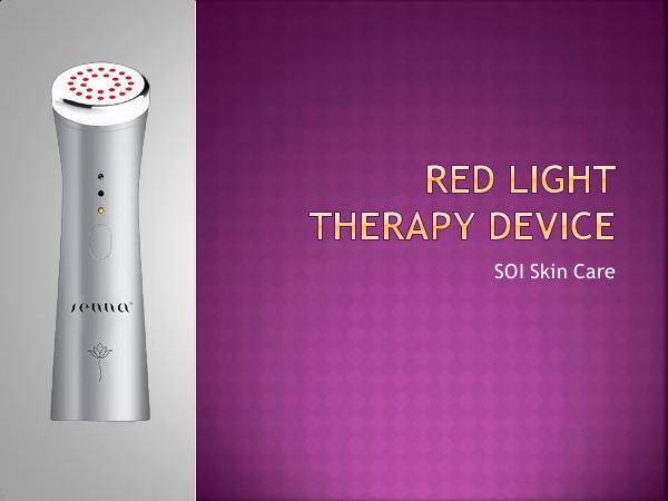 Sennaforever Red Light  Therapy Device