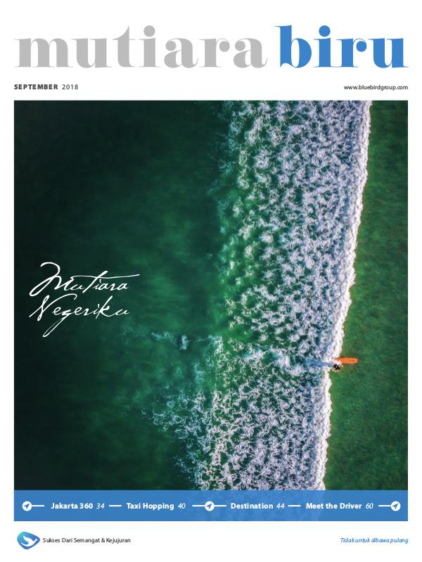 Bluebird - Mutiarabiru Mutiarabiru Magazine - September 2018