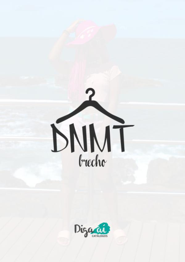 Diga aí - Catálogos - DNMT Brechó DNMT - Brechó